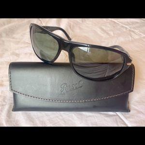 Persol Black Unisex Sunglasses